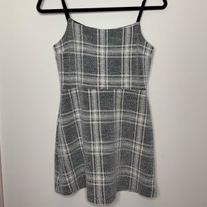 Plaid Urban Outfitters Mini Dress